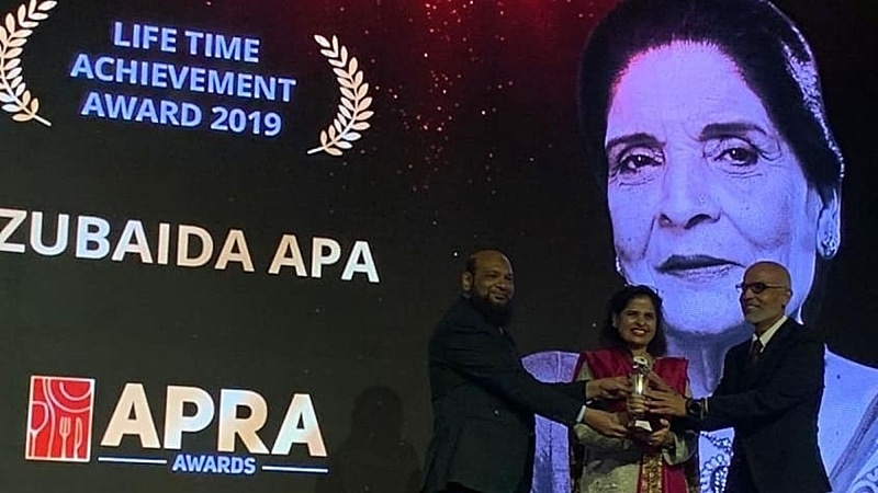 We do give props to APRA for honouring Zubaida Apa though.