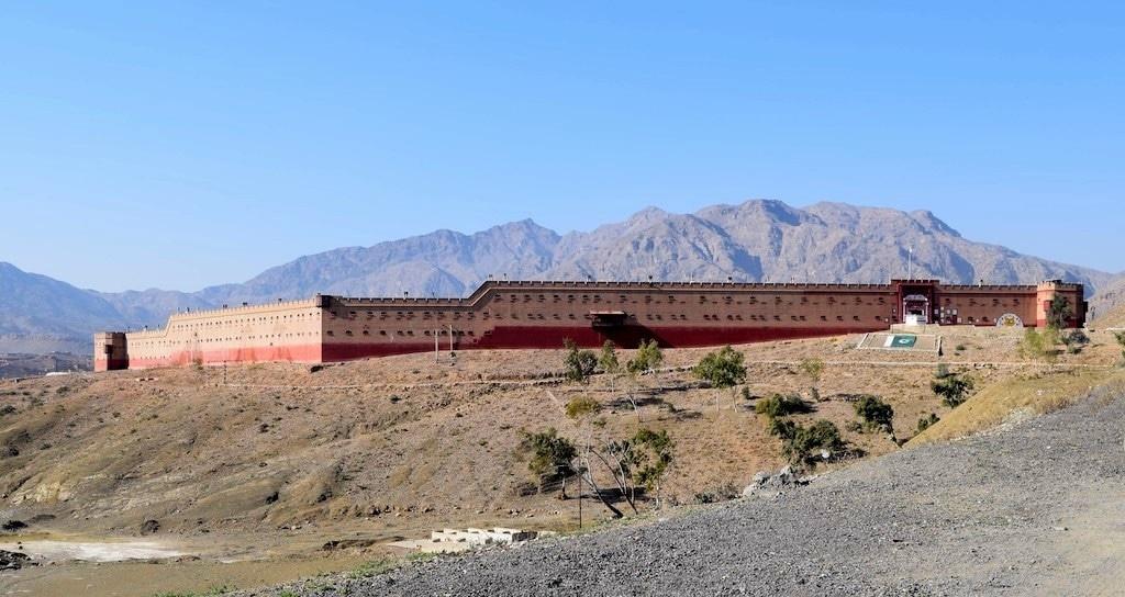 1927 Shagai Fort.