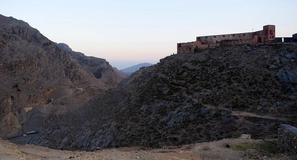 The historic 1837 Ali Masjid Fort.