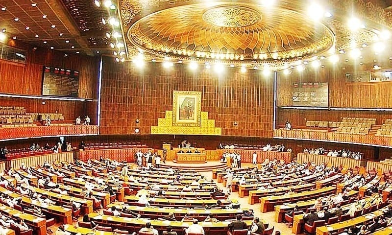 An emotional speech by Pakistan Muslim League-Nawaz leader and former prime minister Shahid Khaqan Abbasi, followed by his walkout over the non-issuance of  a production order for his fellow colleague Rana Sanaullah, was the other main highlight of the National Assembly proceedings. — APP/File