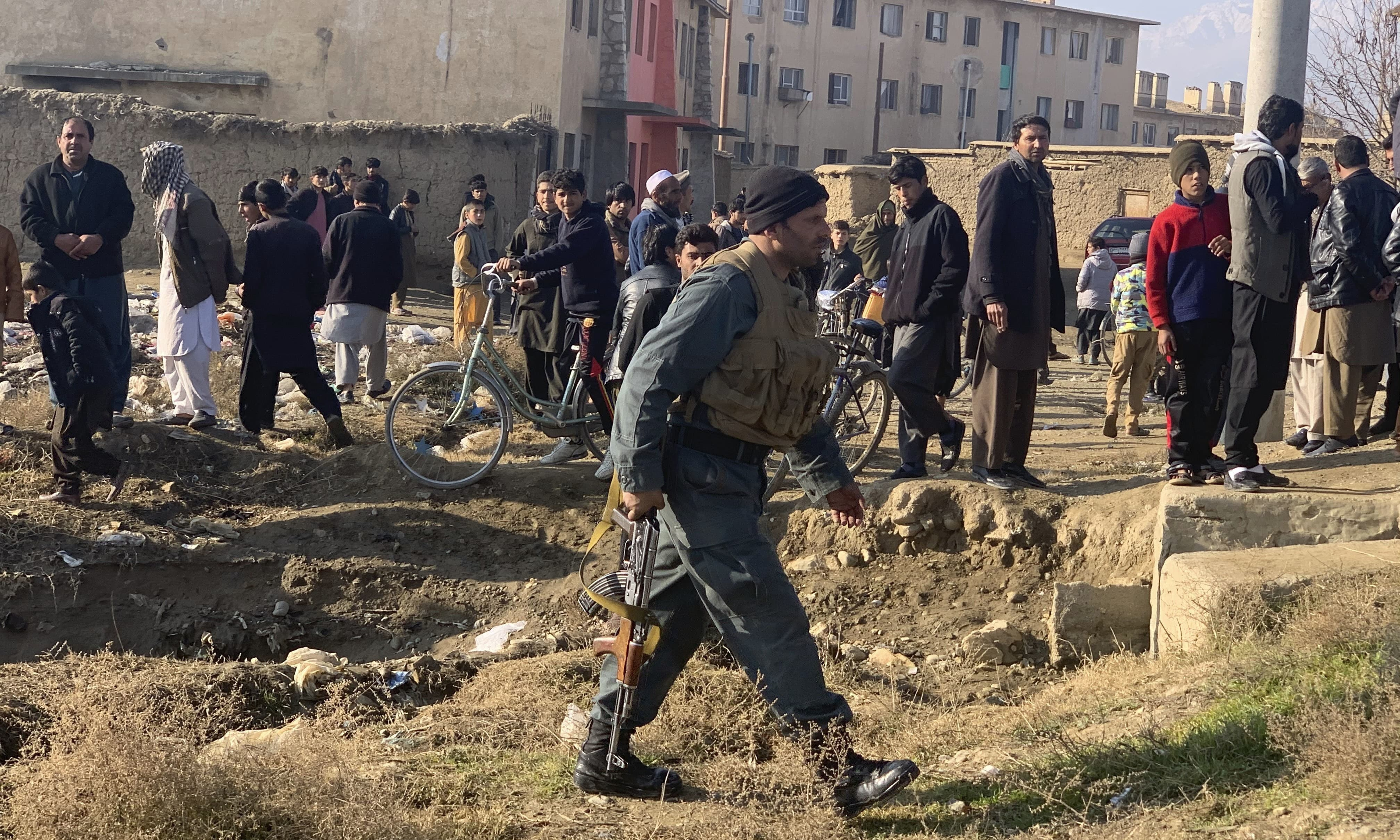 Blast at U.S. military base in Afghanistan kills one, injures 60
