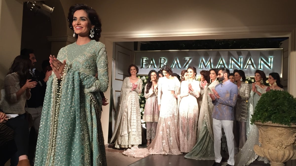 Who wouldn't want to get their hands on a Faraz Manan piece that's timeless?