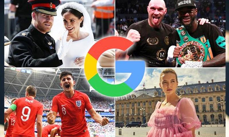 دنیا بھر کے لوگ حیران کن طور پر غیر معروف چیزیں تلاش کرتے رہے—فوٹو: ڈیلی مرر