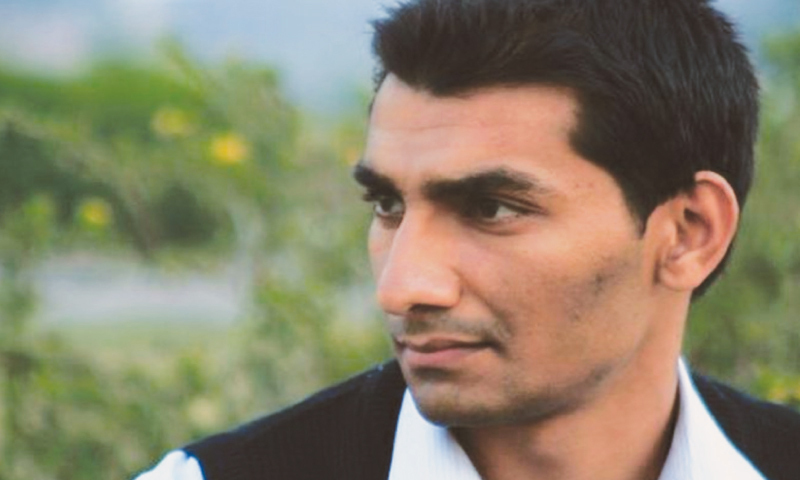 Junaid Hafeez has been in solitary confinement for fear of being attacked by fellow inmates in jail since his arrest in 2013 on blasphemy charges linked to online posts. — Dawn/File