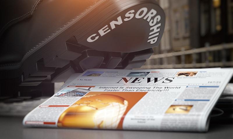 آزادی صحافت کے حوالے سے پاکستان کے درجے میں 3 درجے تنزلی ہوئی —تصویر:شٹراسٹاک