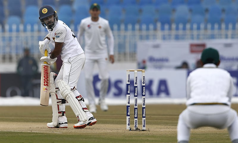 Dhananjaya scores his 6th Test century before Sri Lanka declare