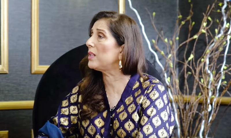 ثمینہ پیرزادہ نے اداکار کو ملک نہ چھوڑنے کا مشورہ دیا—اسکرین شاٹ