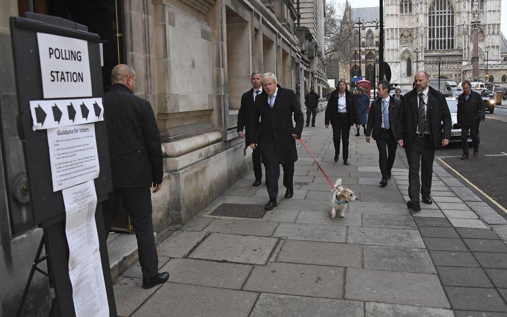 برطانوی وزیراعظم اور رہنما کنزرویٹو پارٹی بورس جانسن