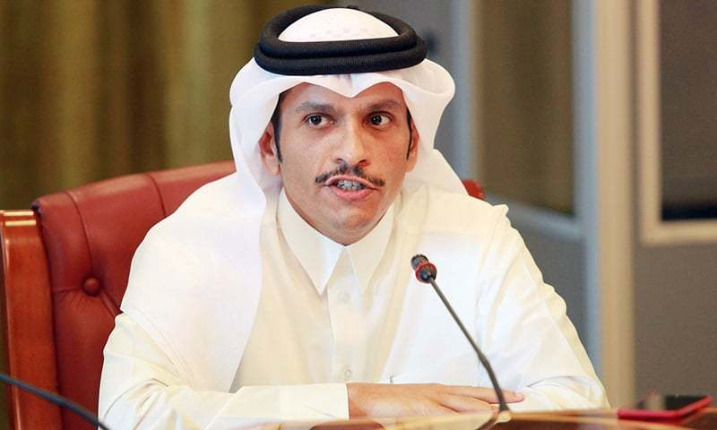 """Asked whether there was progress at the Gulf Cooperation Council summit held last week, Sheikh Mohammed bin Abdulrahman al-Thani told Reuters that there has been """"small progress, just a little progress"""". — Reuters/File"""
