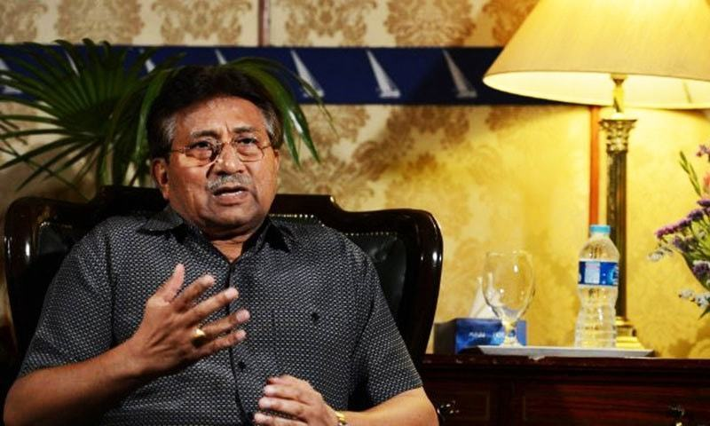 Former military ruler Pervez Musharraf faces a high treason trial before a special court in Islamabad. — AFP/File
