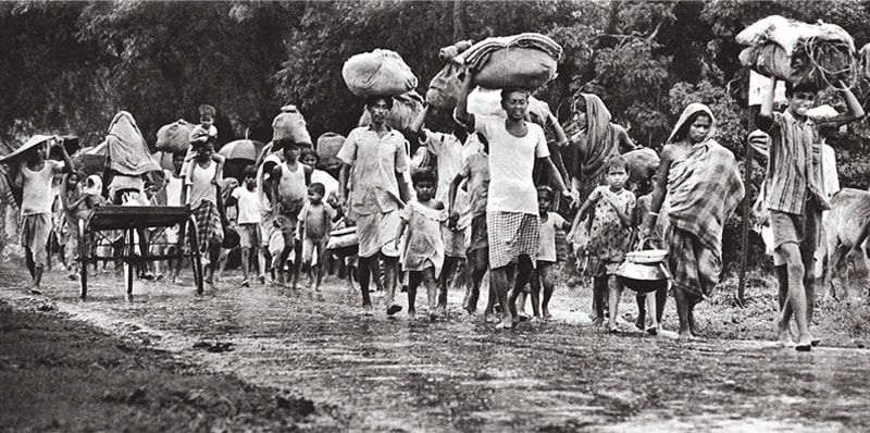 Millions fled East Pakistan in search of safety during the civil war | Raghu Rai/File photo