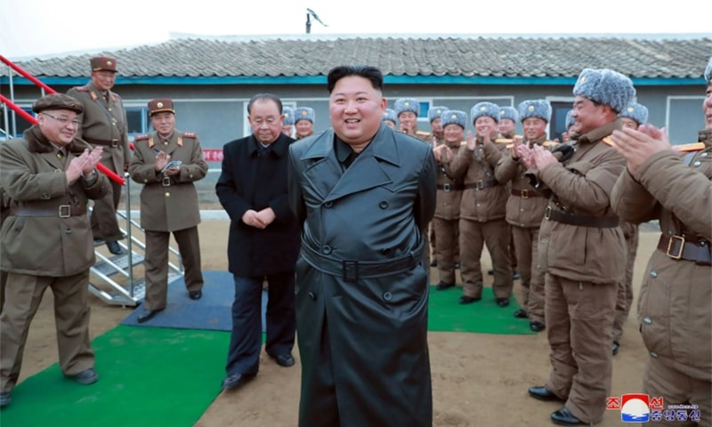 North Korean leader Kim Jong Un had agreed to shutter the Sohae site during a summit last year. — AFP/KCNA
