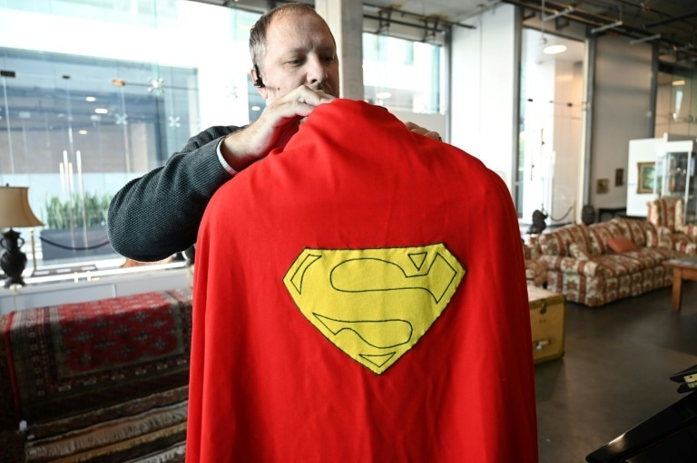 "The cape from Christopher Reeve's ""Superman"" (1978) is estimated to sell for $100,000-$200,000"