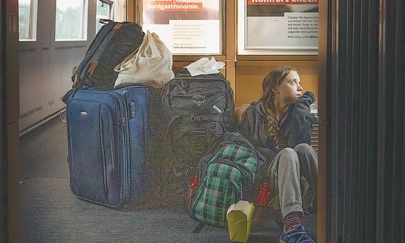 Thunberg in Twitter spat with German railway