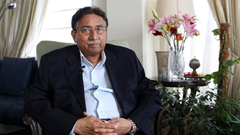 Musharraf during an interview with Khaleej Times at his residence in Dubai in 2018. — Photo by Juidin Bernarrd via Khaleej Times