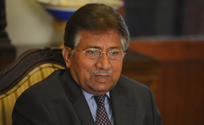 Former military ruler retired Gen Pervez Musharraf. — AFP/File