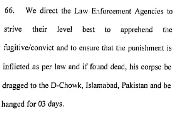 Para 66 of Justice Waqar Seth's detailed judgement.