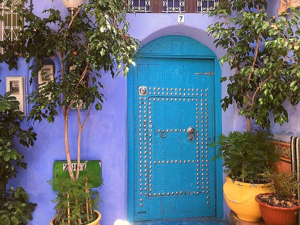 Dar Meziana guest house in Chefchaouen.