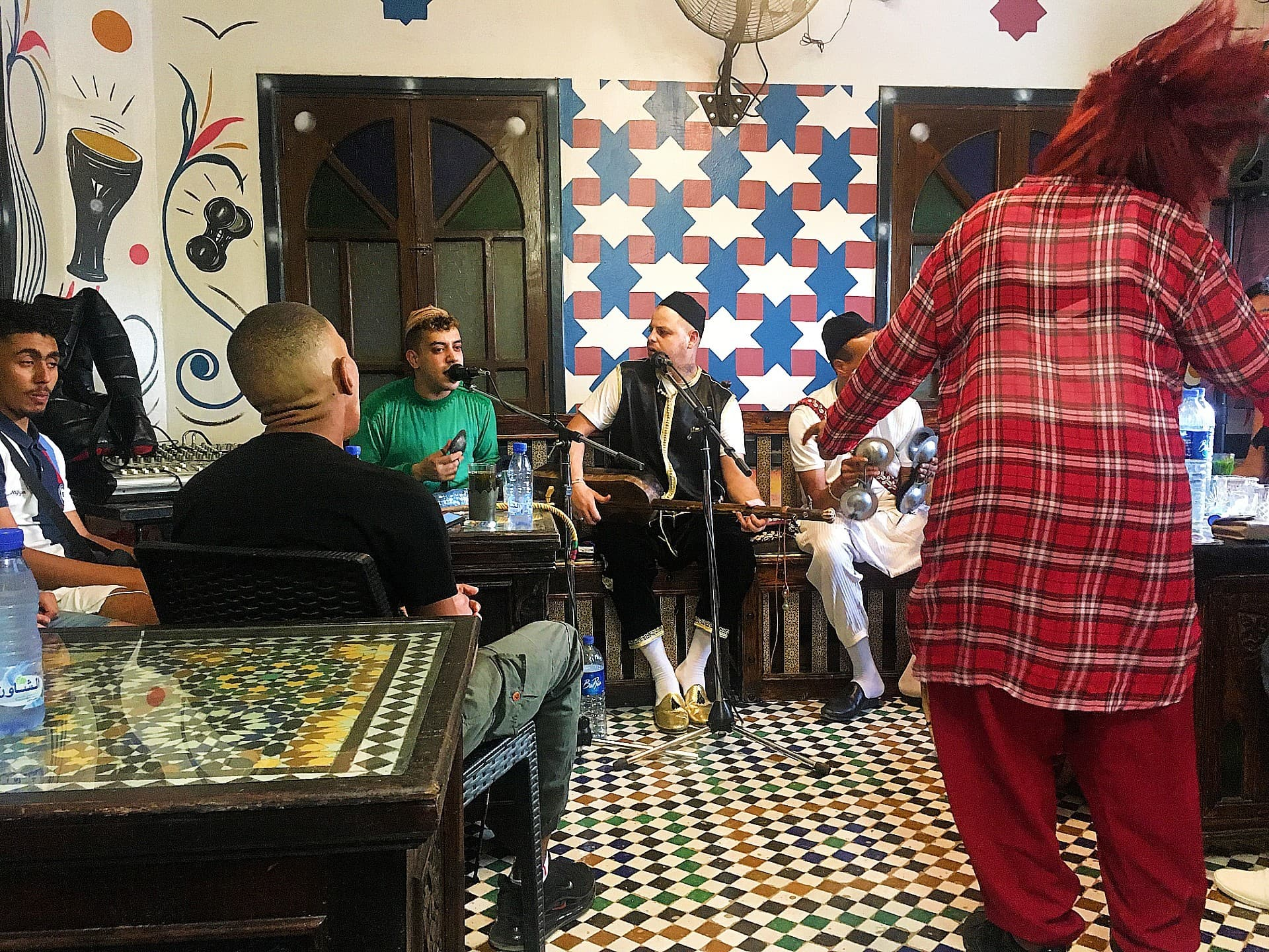 Gnawa music session.