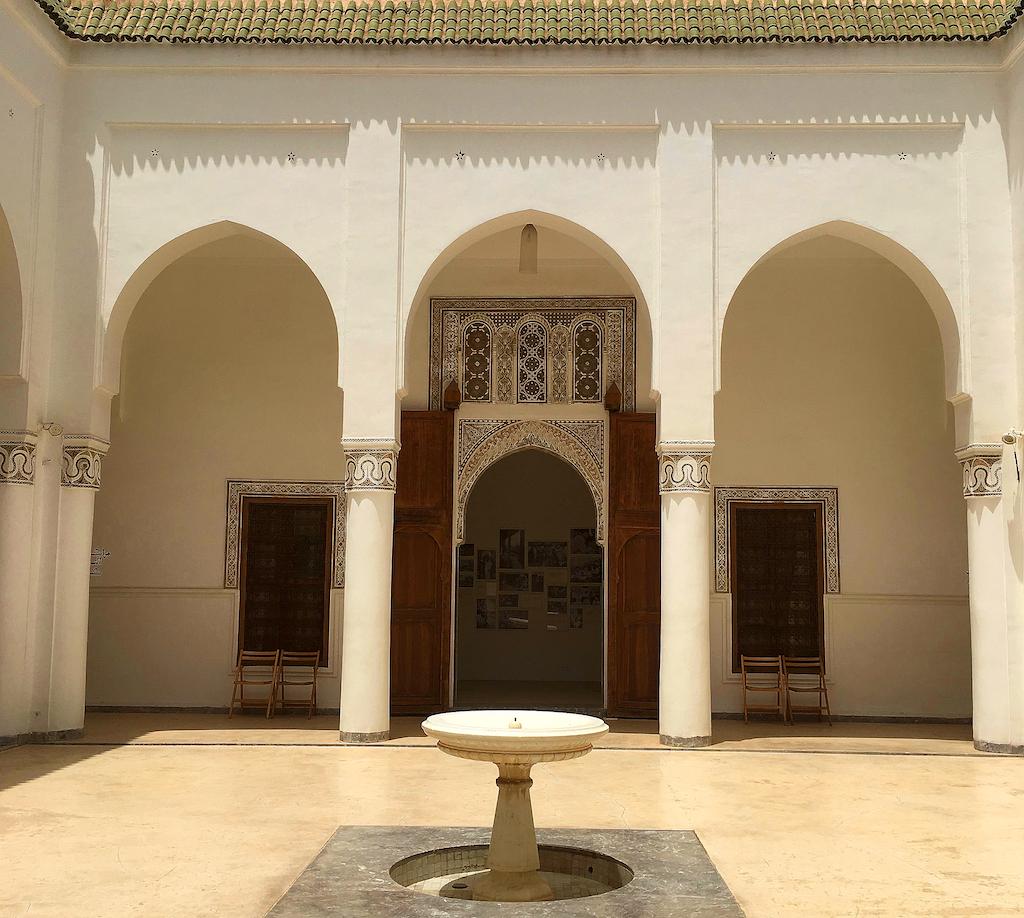 Courtyard Dar Bellarj.