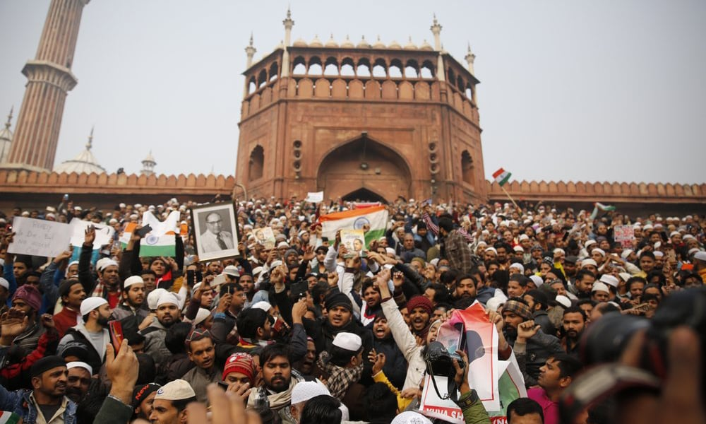 Amid citizenship law outcry, Indian authorities' ban on protests continues