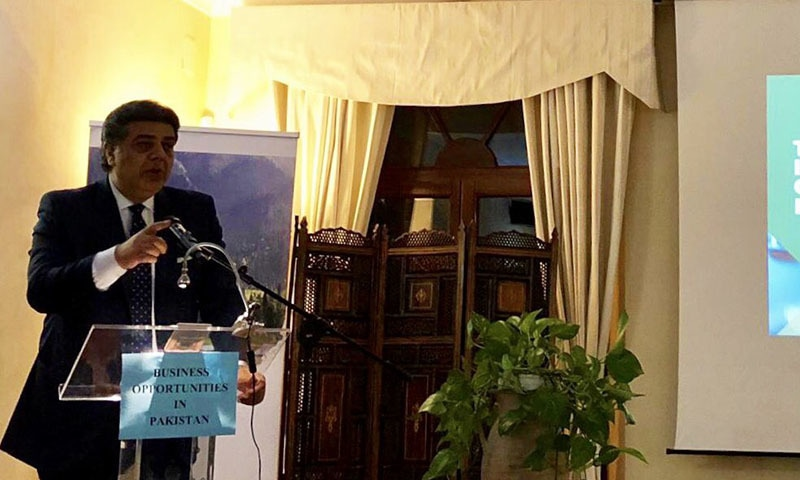 The government is working on multiple fronts to enter into new markets in order to boost exports, said Commerce Secretary Nawaz Sukhera on Friday. — Photo courtesy Ahmad Nawaz Sukhera Twitter