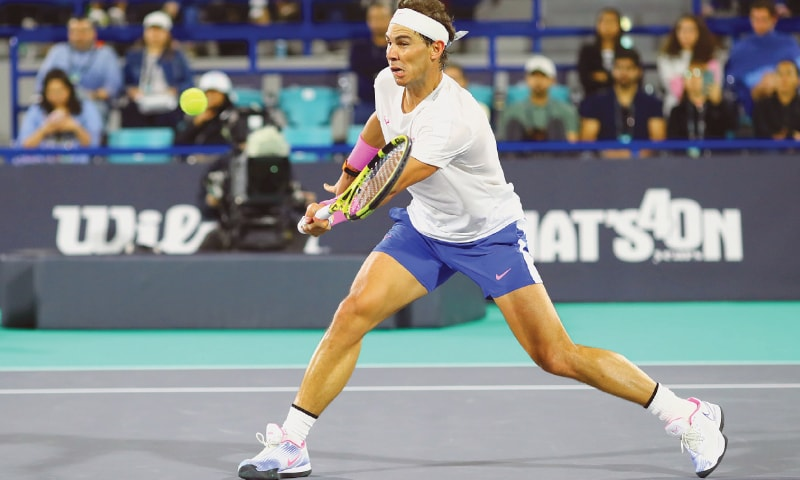 Nadal aims to carry momentum into 2020