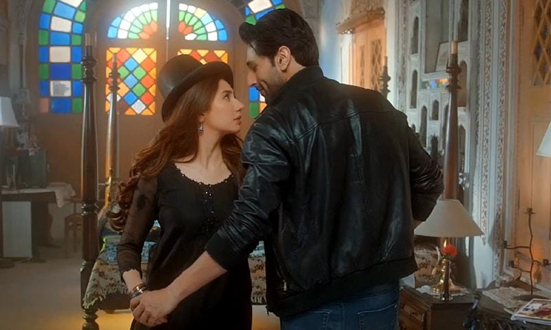 Bilal Ashraf and Mahira Khan in Superstar.