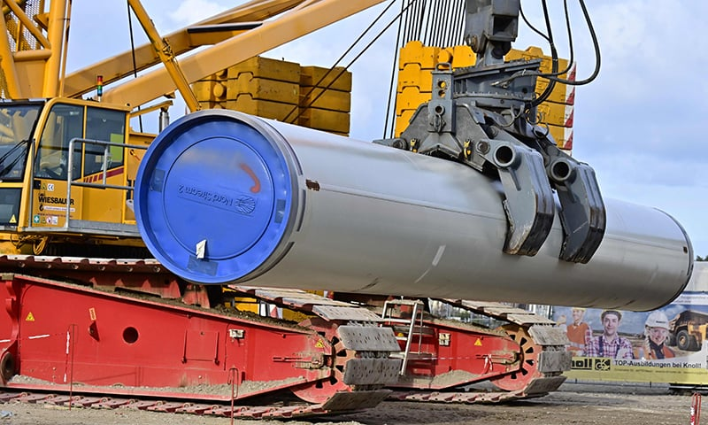 Germany, EU hit out at US over sanctions on Russian gas pipeline