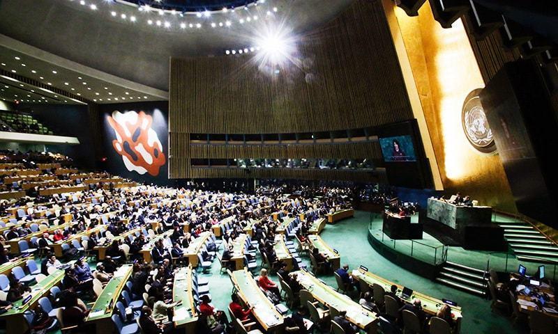 پاکستان کا اقدام بدعنوانی کے خاتمے کے لیے وزیراعظم عمران خان کے وژن کے مطابق ہے —فوٹو: اے پی پی