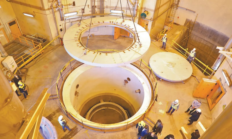 Iran starts new operations at heavy water reactor