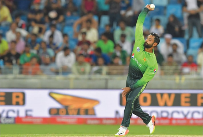 Pakistan's Mohammad Hafeez Suspended From Bowling In All ECB Competitions