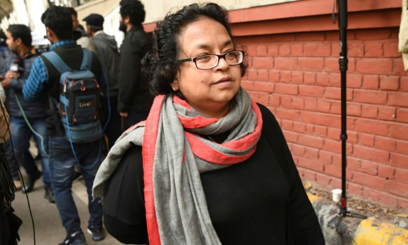 Nandini, a professor at Delhi University, is appalled by the alleged police brutality against students of Jamia University. — AFP