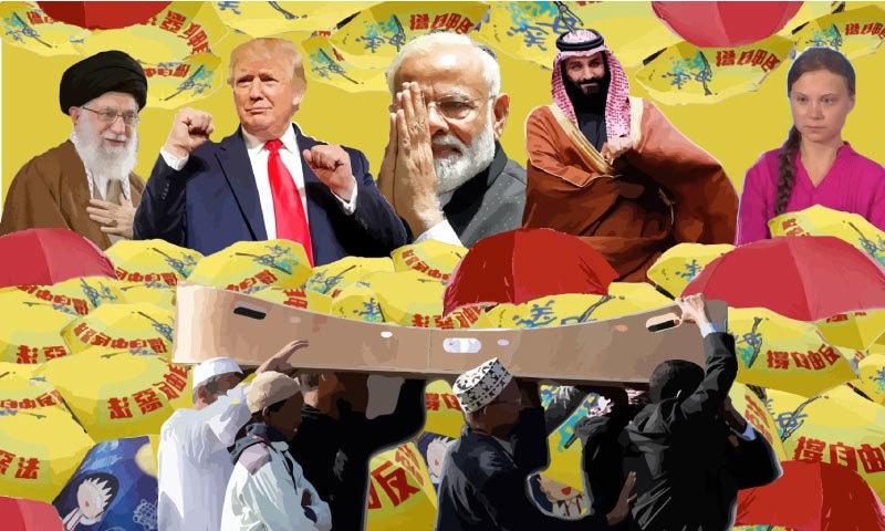 News stories that made headlines around the globe in 2019