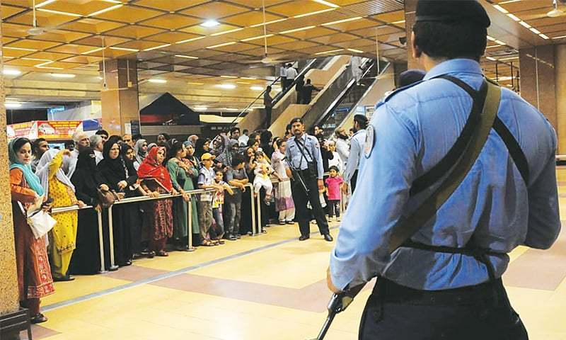 The Sindh High Court has asked the directors general of the Civil Aviation Authority (CAA) and Airport Security Force (ASF) to hold a meeting to revisit the existing security measures at all airports and to modernise and revamp explosive detectors if further steps are required. — AFP/File