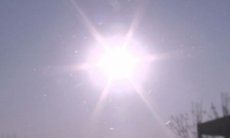 اس سے قبل اگست 1999 میں سورج گرہن دیکھا گیا تھا— فوٹو: ڈان نیوز