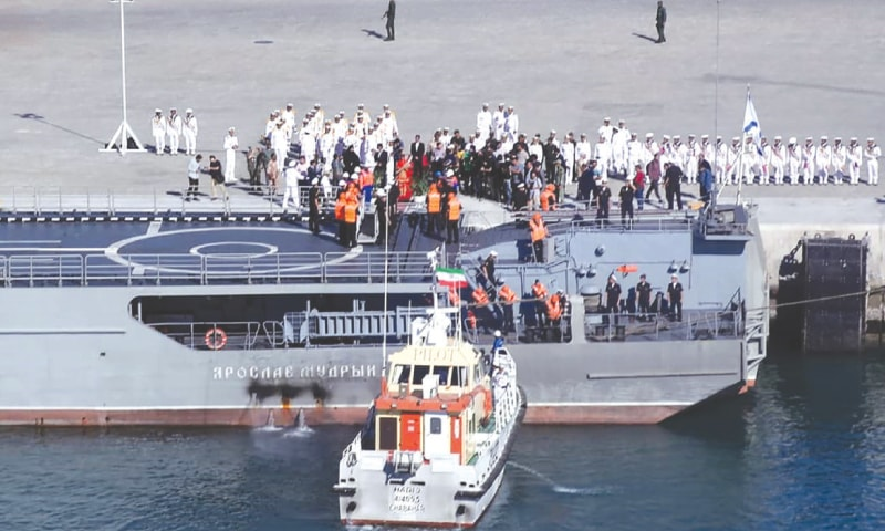 Russia, China, Iran kick off joint naval drills