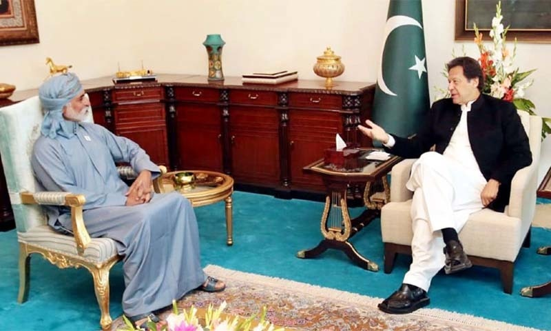 Emirati Minister for Tolerance Sheikh Nahyan bin Mabarak Al-Nahyan on Friday met Prime Minister Imran Khan and President Arif Alvi for discussing possibilities of expanding bilateral ties.  — Photo courtesy Radio Pakistan