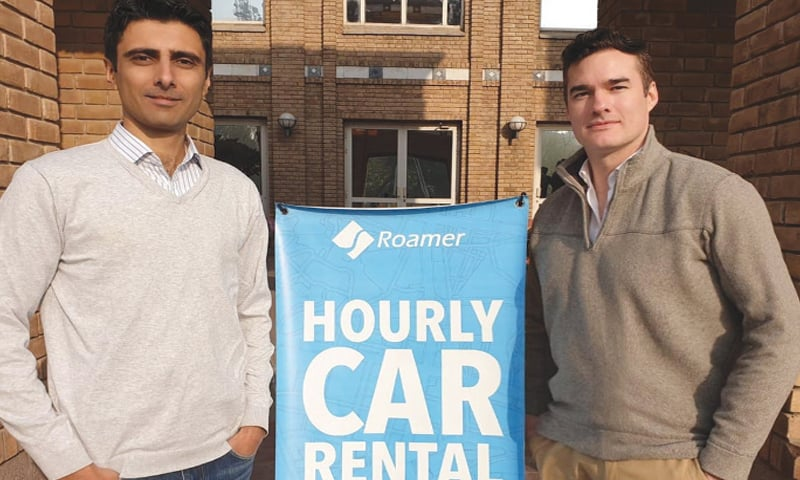 An app to rent a car by the hour