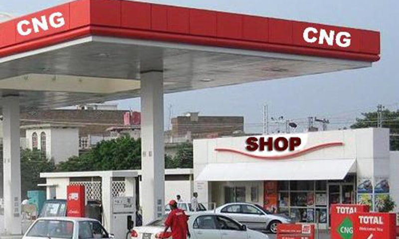 Previously, the Sui Southern Gas Company Limited, which had announced opening CNG stations at 8pm on Thursday, extended the closure till Friday 8pm. — APP/FIle