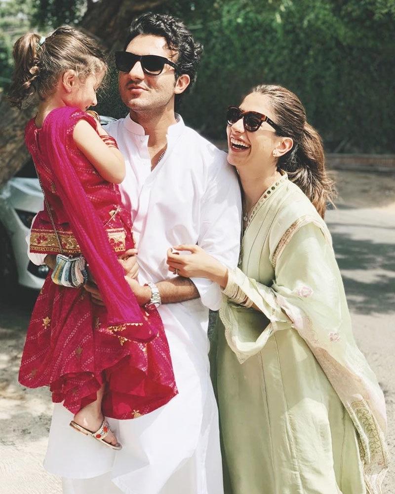 سائرہ اور شہزور کو ایک بیٹی بھی ہے—فوٹو: انسٹاگرام