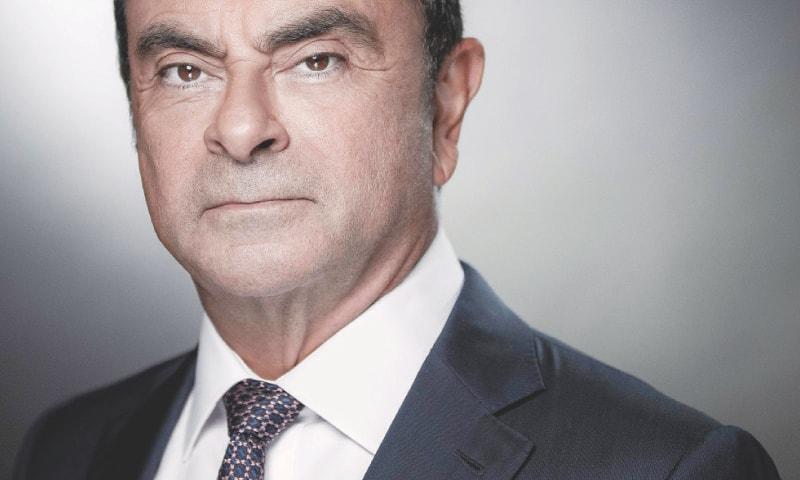 Carlos Ghosn.—AFP