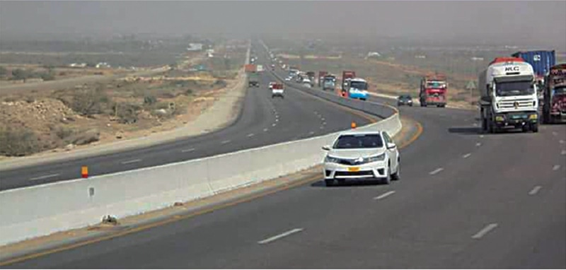 The 300-km motorway will start from Hyderabad passing through Jamshoro, Hala, Matiari, Nawab Shah, Naushehro Feroze, Khairpur and will terminate at Sukkur.