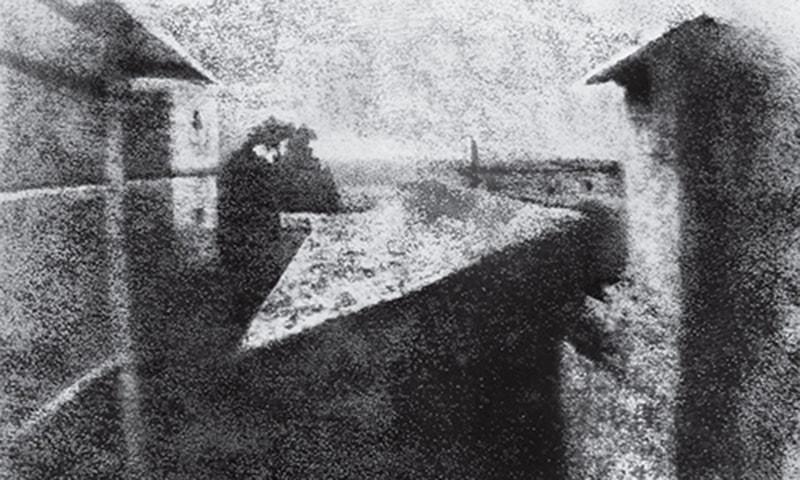 محفوظ رہ جانے والی قدیم ترین تصویر The view from the window
