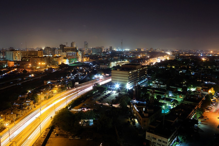 Karachi after dark | Shutterstock