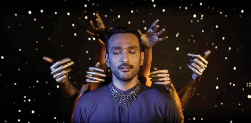 A scene from Ishq, Sethi's most artistic and experimental video yet