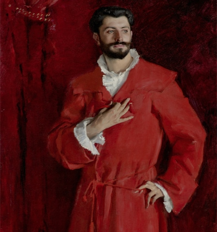 'Dr Pozzi at Home', by John Singer Sargent | Wikipedia Commons