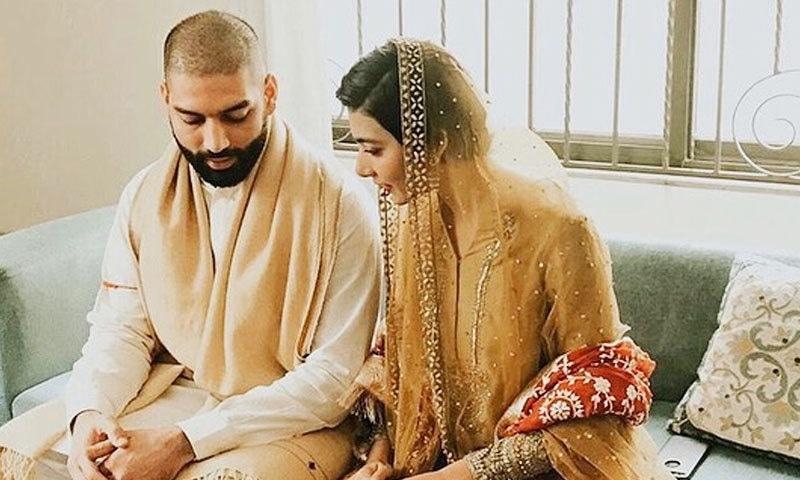 ایمان سلیمان نے نومبر 2019 میں جمیل سے منگنی کی تھی—فوٹو: انسٹاگرام