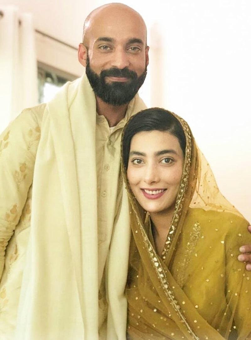 اداکارہ نے شادی کی تصویر شیئر کرتے ہوئے لکھا کہ اب وہ محرم بن گئے—فوٹو: انسٹاگرام