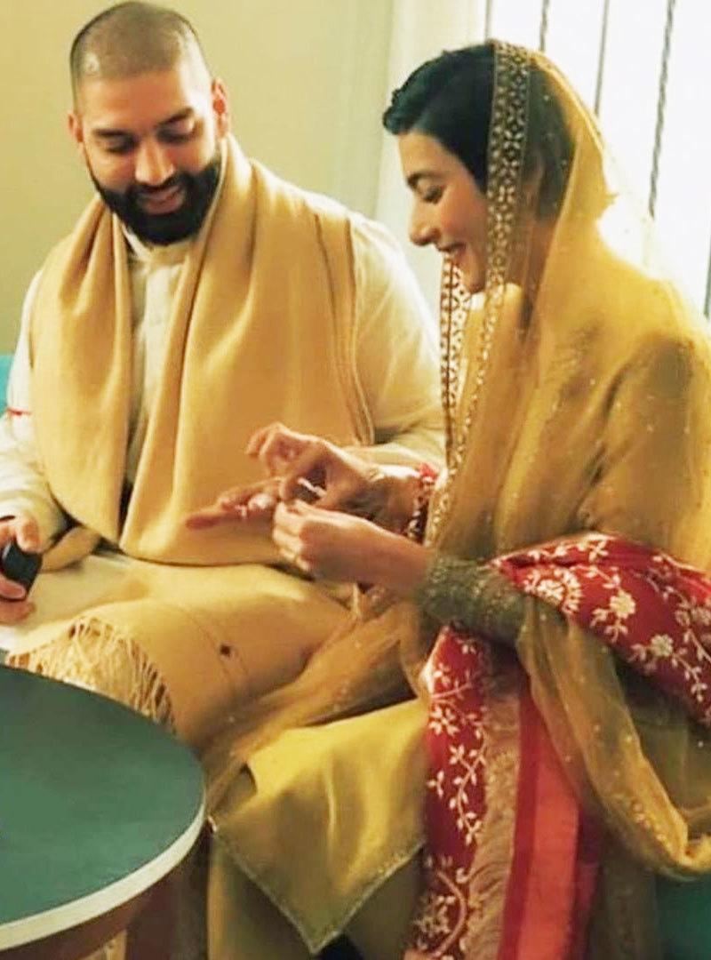 اداکارہ نے شادی کے حوالے سے کوئی تفصیلات شیئر نہیں کیں—فوٹو: انسٹاگرام